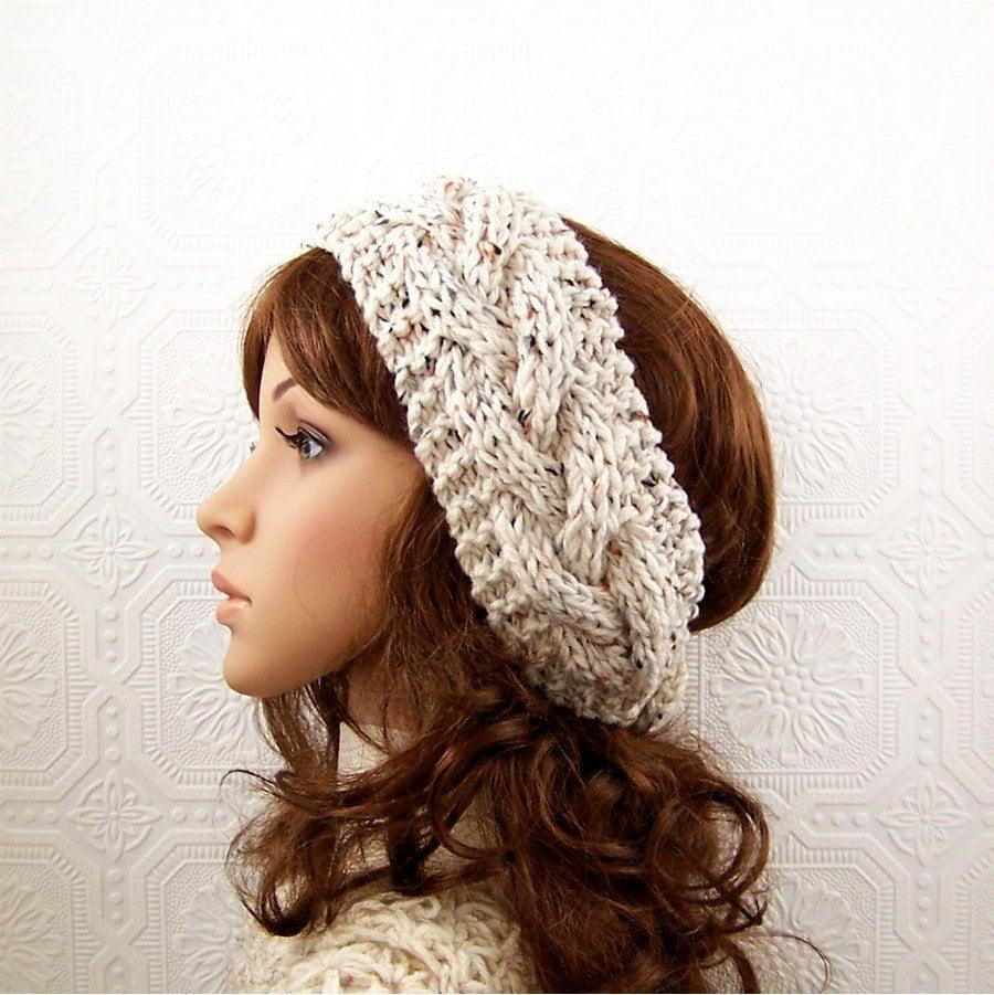 Amazing Hand Knitted Headbands Patterns Ideas - Blanket Knitting ...