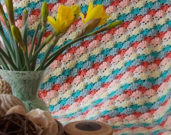 Brighton Crochet Blanket PDF Pattern