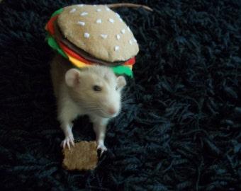 Hamburger Rat Costume