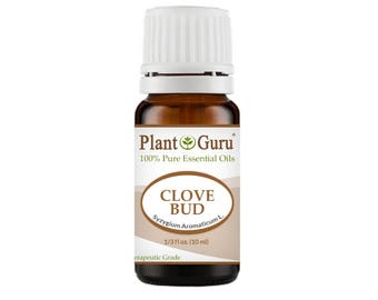 Clove Bud Essential Oil  100% Pure, Undiluted, Therapeutic Grade.