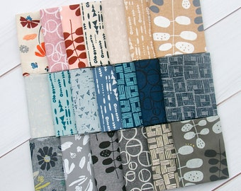 PREORDER: Forage - Fat Quarter Bundle by Anna Graham (Noodlehead) - Full Collection