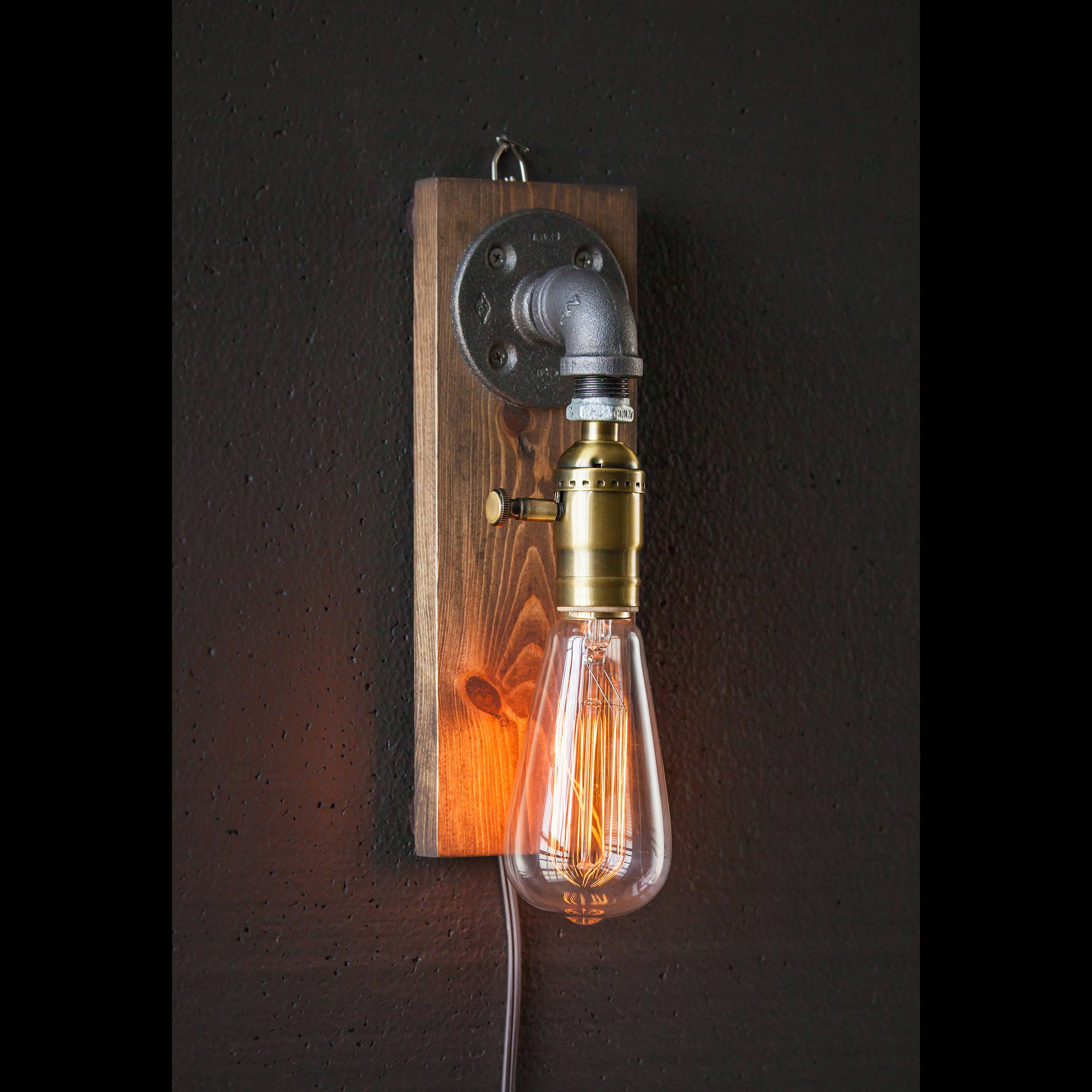 wooden size country style tin lighting sconce sconces holders primitive full of farmhouse wall candle candles iron for