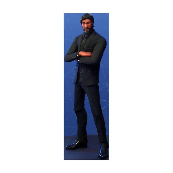 Fortnite the reaper john wick character skin sticker - Fortnite reaper ...