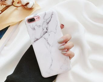 White Marble case.iPhone 8 Plus case.iPhone 8 case.Marble iPhone 8 Plus case.Soft iPhone 8 Plus case.Marble phone case.Marble iPhone 8 case