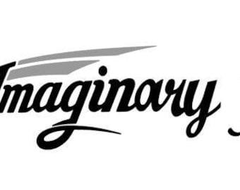Sticker d'amis imaginaire pour le groupe des propriétaires de Grand Design Imagine