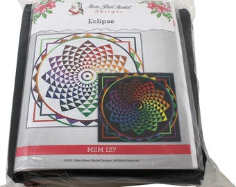 "Maywood Studio Eclipse Quilt Kit 49"" x 49"" Fabric MSM 127"