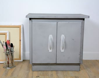 Small furniture extra metal, large Cabinet decor, industrial