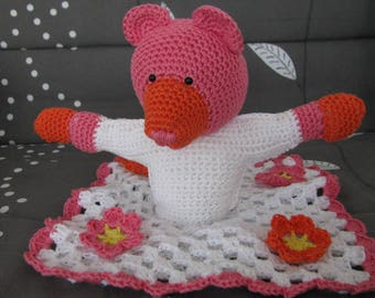 Teddy bear cotton dancer