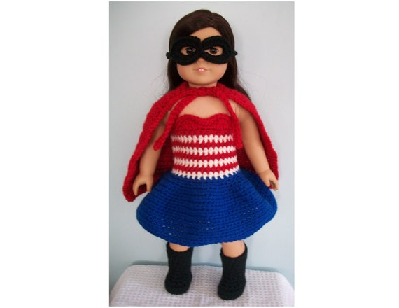 Superhero Costume Crochet Pattern