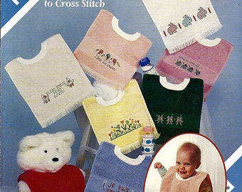 Bibs 8 Borders To Cross Stitch Counted Cross Stitch Pattern Book 708