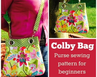Colby Bag - PDF Sewing  pattern