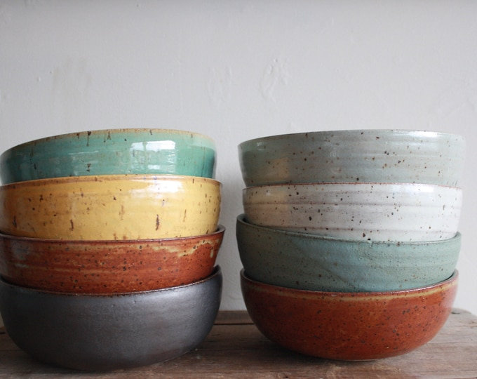 Carrie & John - Wedding Registry - Dinner Bowls - KJ Pottery