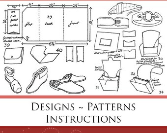 EASY To MAKE LEATHERWORK How To Make Leather Goods - Designs ~ Patterns ~ Instructions Printable or Read on Your Tablet - Instant Download