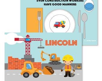 Construction Manners Mat
