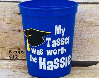 Graduation Party, Stadium Cups, Plastic Cups, Graduation Party Favors, Grad Party, Graduation Party Ideas, College Graduation, Class Of 2018