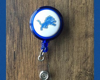 Detroit Lions Badge Holder