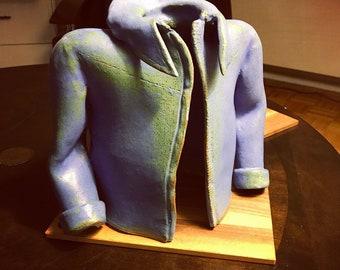 Handmade ceramic jacket