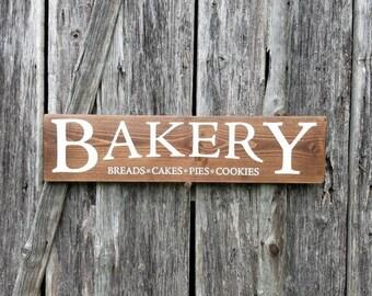 Bakery wood sign, Farmhouse decor, bakery decor, gift for her, housewarming gift, Farm house style, Birthday gift, gift for her