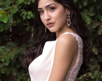 Custom Bridal Hair, bridal Headband, vine, Bridal Crown, Headpiece, Wedding Headband, Halo, Wedding Tiara, Wedding Hair Jewelry #Maggie