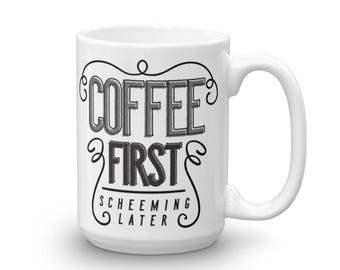 Coffee First Screaming Later Coffee Mug