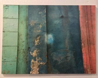 """Wood Placemat by VeniEtiamPhotography - """"Colores de la Habana"""""""