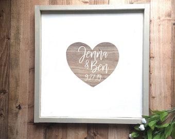 Wedding Guest Book Alternative - Rustic Wedding Guest Book - Wood Wedding Signs - Custom Wedding Guest Book - Wedding Gift