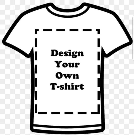 Design your own T-Shirt/ Character Shirt with Name. Shirt will