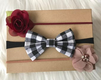 Baby Headbands, Baby Headband Set, Fall Headband, Fall Headband Set, Baby Girl Headband, Infant Headband, Newborn Headband, Baby Hair Bows