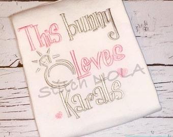 This bunny loves karats