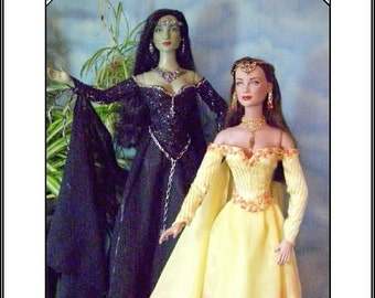 MORGANA A PATTERN for Tyler, Gene 15 16 inch  dolls Tonner Witch, Sydney