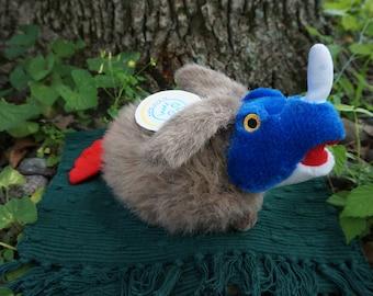 Nero. FrankenFuzzie, Soft Sculpture, Stuffed Animal, Toy