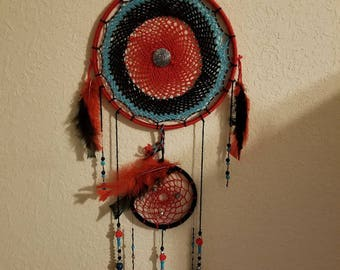 Rose turquoise dreamcatcher