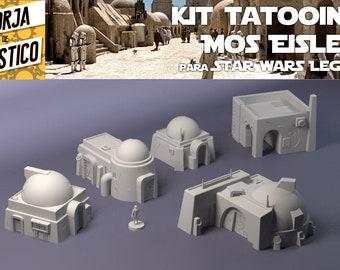 Kit Tatooine, 5 buildings for Star Wars Legion