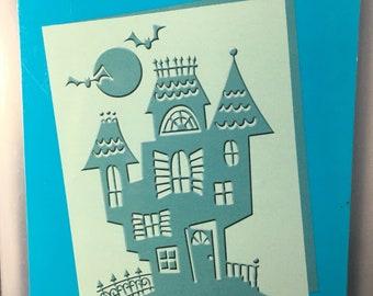 Haunted Halloween Cuttlebug  Embossing Folder