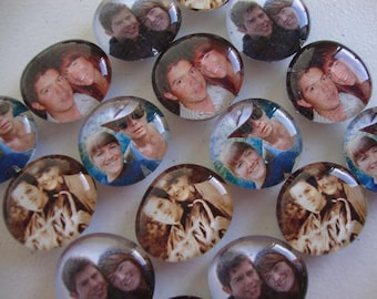 Set of 25 photo magnets