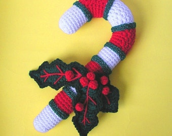 PDF Crochet Pattern CANDY CANE (English only)