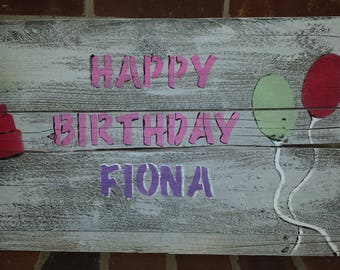 Rustic, made-to-order Special Occasion/Holiday Signs