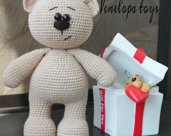 Pattern Bear, amigurumi crochet bear, crochet bear pattern, amugurumi pattern, crochet bear, pdf pattern