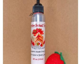Strawberry Angel Food Cake Body Lotion (Paraben Free)
