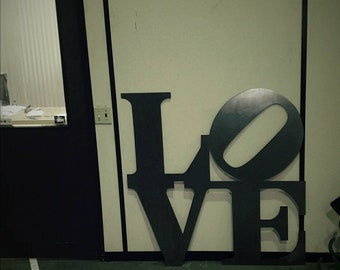4 ft by 4ft LOVE wall or garden sign