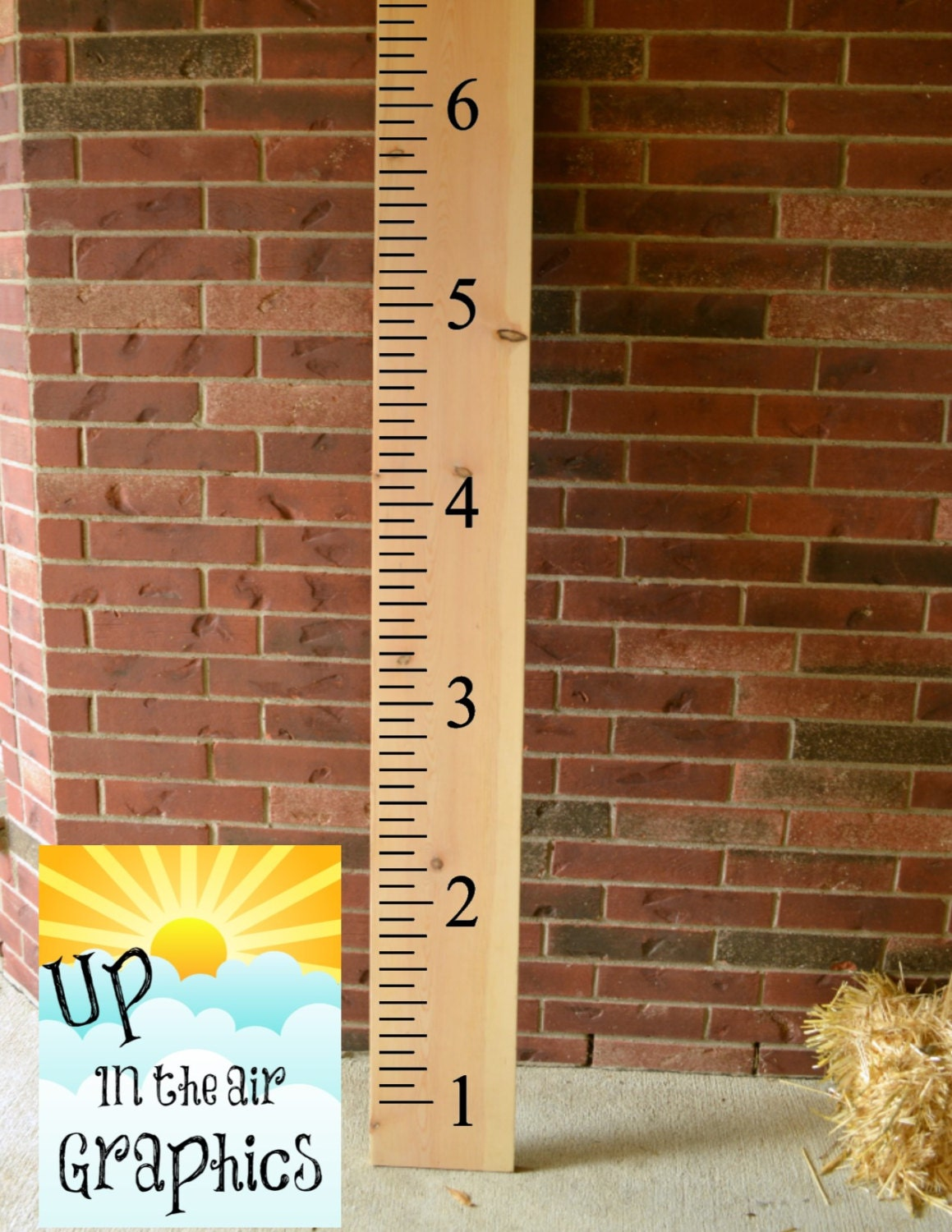 6ft ruler growth chart vinyl wall decal zoom nvjuhfo Gallery