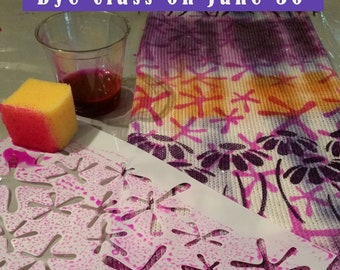 Marks and Meaning- Dye Class in Atlanta Ga usa on June 30***IN PERSON attendance NOT on line class***