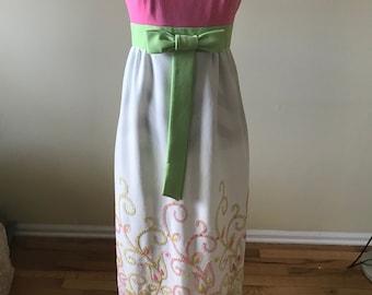 1960s dress / spring dress