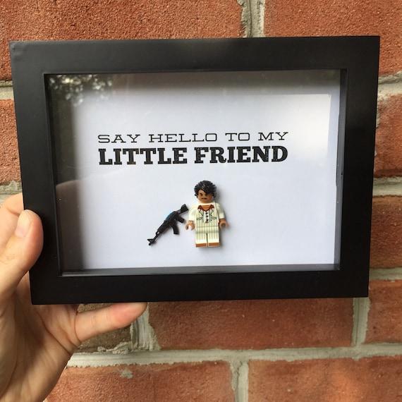 Scarface Lego Frame