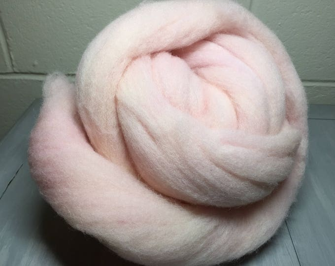 Pink Fizz - Hand Dyed Domestic Wool - Spin, Felt, Card!