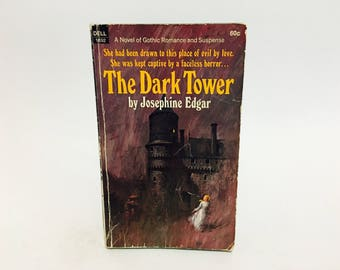 Vintage Gothic Romance Book The Dark Tower by Josephine Edgar 1969 Paperback