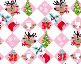 Michael Miller - Tinsel Tiles - Multi - CS7388-MULT-D - 100% cotton fabric - Fabric by the yard(s)