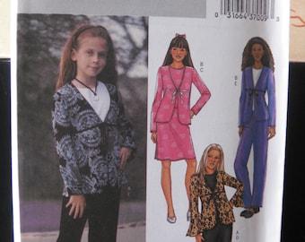 Pattern BUTTERICK 3959 / top - skirt - pants for girls
