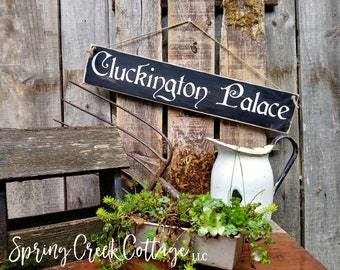 Chickens, Chicken Signs, Chicken Coop, Rustic, Farmhouse Decor, Chicken Coop Signs, Chicken House Decor, Handpainted, Wood Signs, Home Decor