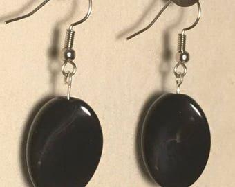 DesignsbyKIKO Black Dangle Earrings